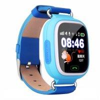Ceas telefon Smartwatch cu GPS pentru copii Usmart K6-albastru