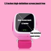 Smartwatch k6 ceas gps pentru copii pink
