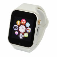 Ceas smartwatch A1 PRO-cartela SIM,camera,TF card-1,54 HD touchscreen-white
