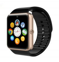 Ceas smartwatch GT08 PLUS-cartela SIM,camera,TF card-1,54 HD touchscreen-gold