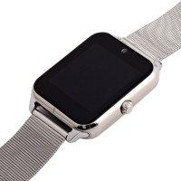 Smartwatch metal silver