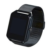 Ceas smartwatch Aipker Z60 -cartela SIM,camera,TF card-1,54 HD touchscreen-black