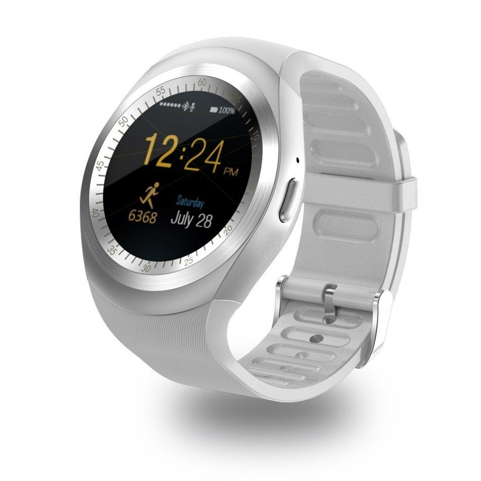 smartwatch v9 alb cu cartela SIM