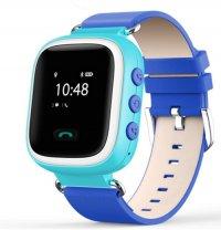Ceas telefon Smartwatch cu GPS pentru copii Usmart Q5-albastru