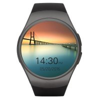 Ceas smartwatch  KW18-cartela SIM-ritm cardiac,SIRI-1.3 inch HD touchscreen-black