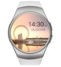 Ceas smartwatch  KW18-cartela SIM-ritm cardiac,SIRI-1.3 inch HD touchscreen-white