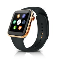 Ceas Smartwatch  A9 -ritm cardiac- 1,54 HD touchscreen-gold