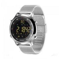 Smartwatch sport EX18- bluetooth -rezistent la apa-metal