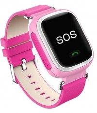 Ceas telefon Smartwatch cu GPS pentru copii Usmart Q5-roz