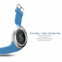 smartwatch v9 albastru