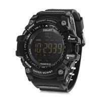 Smartwatch sport EX16- bluetooth -rezistent la apa-black