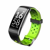 Bratara fitness Aipker Q8- ritm cardiac,tensiune arteriala -black-