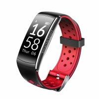 Bratara fitness Aipker Q8- ritm cardiac, tensiunea arteriala  -red