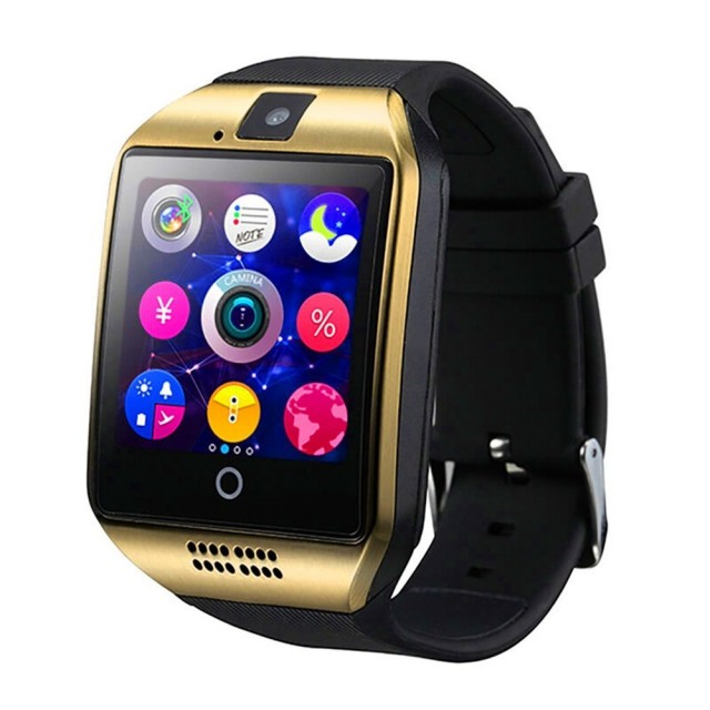 smartwatch q18 gold