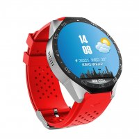 Ceas Smartwatch  King Wear KW88 -ceas 3g-WIFI-gps-cartela SIM-red