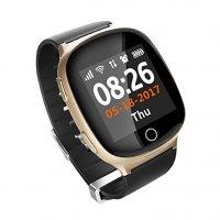 Ceas telefon Smartwatch cu GPS pentru Senior Usmart K13-gold