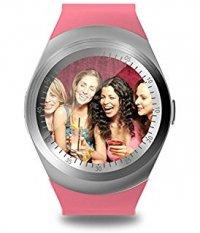 smartwatch v9 pink cartela sim