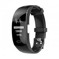 Bratara fitness Aipker P3- ritm cardiac,PPG+EKG+HRV,tensiunea arteriala ,-black