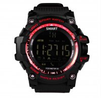 Smartwatch sport EX16- bluetooth -rezistent la apa,red-black
