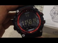 Smartwatch ex16 redblack