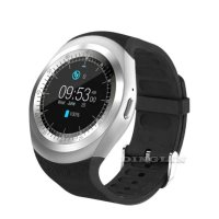 Ceas smartwatch Aipker V9-cartela SIM-camera-1.3 inch HD touchscreen-silver