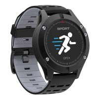 Smartwatch F5-ritm cardiac,gps incorporat,altimetru -black