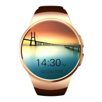 Ceas smartwatch  KW18-cartela SIM-ritm cardiac,SIRI-1.3 inch HD touchscreen-gold