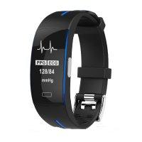 Bratara fitness Aipker P3- ritm cardiac,PPG+EKG,tensiunea arteriala -albastru