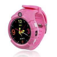 Ceas telefon Smartwatch cu GPS pentru copii Usmart Q610-roz
