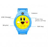 Smartwatch q610 albastru
