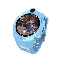 Ceas telefon Smartwatch cu GPS pentru copii Usmart Q610-albastru