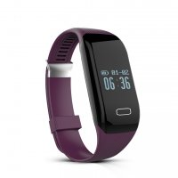 Bratara fitness bluetooth H3-waterproof- ritm cardiac-violet