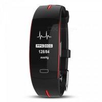 Bratara fitness Aipker P3- ritm cardiac,PPG+EKG,tensiunea arteriala -red