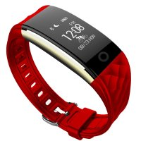 Bratara fitness Aipker S2-monitorizare ciclism,ritm cardiac -rosu