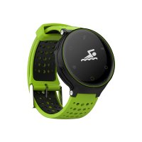 Bratara fitness Aipker X2-monitorizare inot,ciclism,ritm cardiac -black green