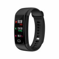 Bratara fitness Aipker F07-monitorizare inot,tensiune,ritm cardiac -black