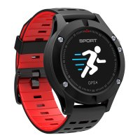 Smartwatch  Aipker F5-ritm cardiac,gps incorporat,altimetru -rosu