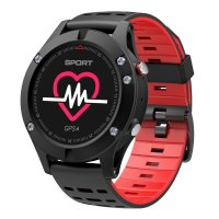 smartwatch f5 red