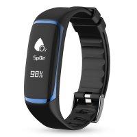Bratara fitness Aipker P9- ritm cardiac,multi sport -albastru