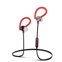 Casti bluetooth Usmart Q6 stereo,Wireless ,anti transpiratie,izolare sunet-red