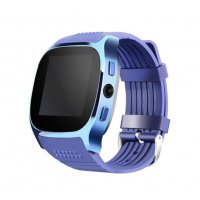 Ceas smartwatch  bluetooth M26 -cartela SIM -blue