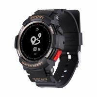 Smartwatch Aipker F6-ritm cardiac,GPS,rezistent la apa -black