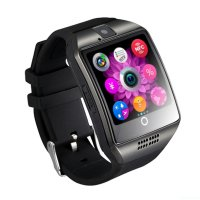 Ceas smartwatch Vogue Q18  -ecran curved- cartela SIM-TF card-1,54 HD touchscreen-negru