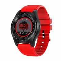 Ceas Smartwatch Aipker S9 rosu,cartela SIM ,camera