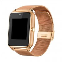 Ceas smartwatch Aipker Z60-cartela SIM,camera,TF card-1,54 HD touchscreen-gold