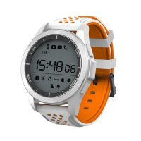 Smartwatch sport F3- bluetooth -rezistent la apa-white