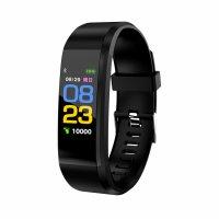 Bratara fitness Aipker ID115 plus-tensiune, ritm cardiac-black