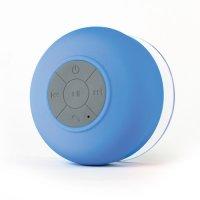 Boxa portabila bluetooth rezistent la apa -albastru
