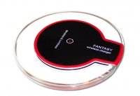 Incarcator Universal Wireless fast charge fara fir rotund -transparent