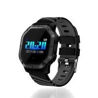 Bratara fitness Aipker FT-01- monitorizare inot,cylism,ritm cardiac -black